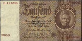 R.177M: 1000 Reichsmark 1936 Schinkel MUSTER (3)