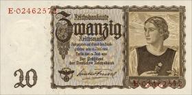 """R.178a: 20 Reichsmark 1939 """"Österreicherin"""" (1)"""