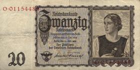 """R.178a: 20 Reichsmark 1939 """"Österreicherin"""" (3)"""