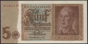 R.179a: 5 Reichsmark 1942 7-stellig (1)