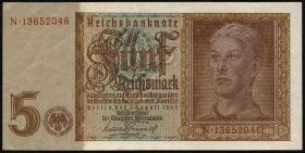 R.179b: 5 Reichsmark 1942 8-stellig (3)