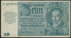 R.180: 10 Mark 1945 Notausgabe Schörner (3)