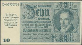 R.180a: 10 Mark 1945 Notausgabe Schörner (1)