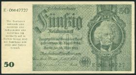 R.181a: 50 Reichsmark 1945 Schörner (1-)