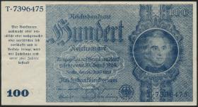 R.182a: 100 Reichsmark 1945 Schörner (3+)