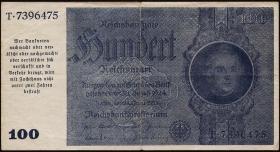 R.182b: 100 Reichsmark 1945 Schörner (3+)