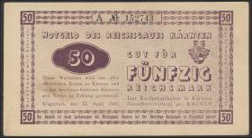 R.187: 50 Reichsmark 1945 Kärnten (2)