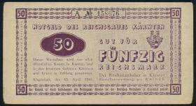 R.187: 50 Reichsmark 1945 Kärnten (3)