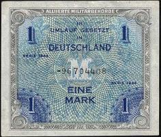 R.201d: 1 Mark 1944 UdSSR-Druck 8-stellig (1)