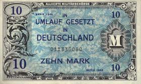 R.203a: 10 Mark 1944 US-Druck 9-stellig (2)