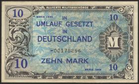 R.203b: 10 Mark 1944 US-Druck Ersatznote (3+)