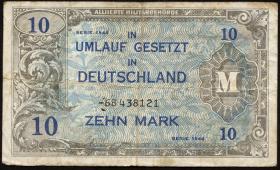 R.203d: 10 Mark 1944 UdSSR-Druck Ersatznote (4)