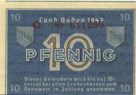 R.209c: Baden 10 Pfennig 1947 (1)