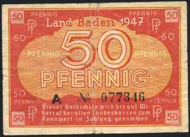 R.210: Baden 50 Pfennig 1947 (4)