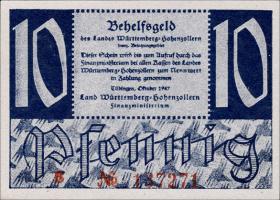 R.215a: Württemberg 10 Pf. 1947 (1)
