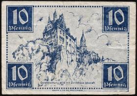 R.215a: Württemberg 10 Pf. 1947 (3)