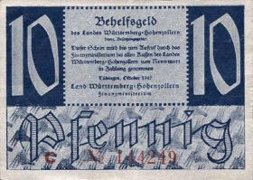 R.215a: Württemberg 10 Pf. 1947 (2)