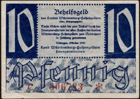R.215b: Württemberg 10 Pf. 1947 (3)