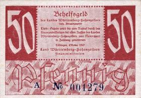 R.216a: Württemberg 50 Pf. 1947 (1)