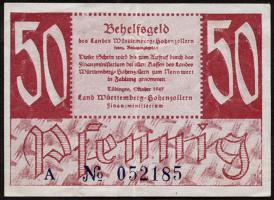 R.216a: Württemberg 50 Pf. 1947 (2)