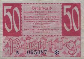 R.216b: Württemberg 50 Pf. 1947 (3)