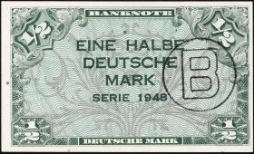 R.231a 1/2 DM 1948 B-Stempel (2/1)