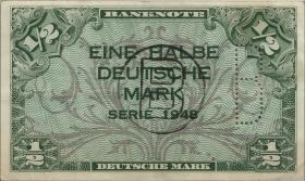 R.231c 1/2 DM 1948 B Perforation + B Stempel (3+)