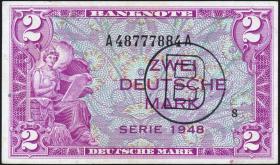 R.235a 2 DM 1948  B-Stempel (1/1-)