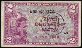 R.235a 2 DM 1948 B-Stempel Serie A/B (3)