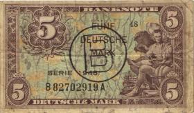 R.237a 5 DM 1948 B-stempel (3-)