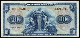 R.239a 10 DM 1948 B-Stempel (1/1-)