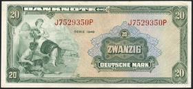 R.240 20 DM 1948 (2+)