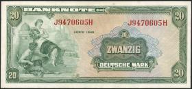 R.240 20 DM 1948 (3+)