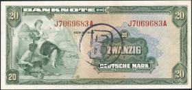 R.241a 20 DM 1948 B-Stempel (1)