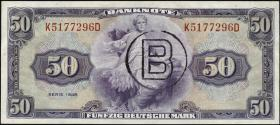 R.243a 50 DM 1948 B-Stempel (1)
