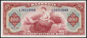 R.244 100 DM 1948 (2) Serie L/B