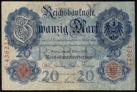 R.024a 20 Mark 1906  6-stellig (3)