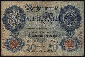 R.024b 20 Mark 1906  7-stellig (4)