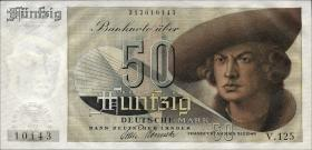 R.254 50 DM 1948 Bank Deutscher Länder (1) 3-stellig