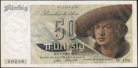 R.254 50 DM 1948 Bank Deutscher Länder (1/1-)