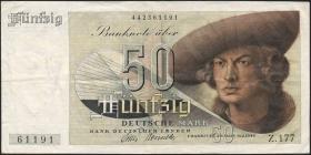 R.254 50 DM 1948 Z.177 Bank Deutscher Länder (3)