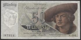 R.254 50 DM 1948 BDL 3-stelllig (1-)