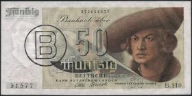 R.255 50 DM 1948 B-Stempel (1/1-)