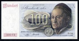 R.256 100 DM 1948 Bank Deutscher Länder (1-)