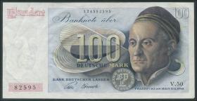 R.256 100 DM 1948 Bank Deutscher Länder (3+)
