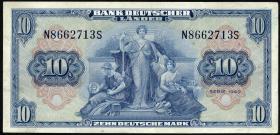 R.258 10 DM 1949 BDL Serie N/S (2)
