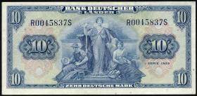 R.258 10 DM 1949 BDL Serie R/S (2)