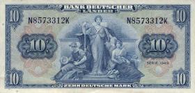 R.258 10 DM 1949 BDL (1/1-)