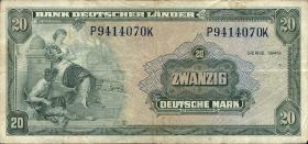 R.260 20 DM 1949 Bank Deutscher Länder (3)