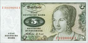 R.262f 5 DM 1960 Ersatznote (1)